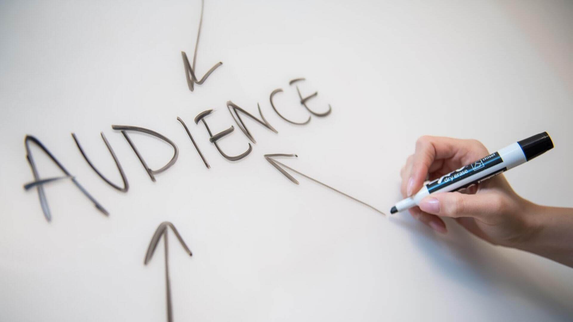 target website audience with user research